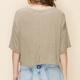 knit crop tee