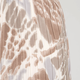 pleated tie dye midi skirt