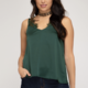 scalloped lace camisole