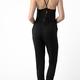 lace up back jumpsuit