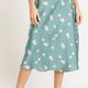 floral aline skirt