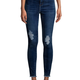 noisy may - high waist skinny destroyed jeans