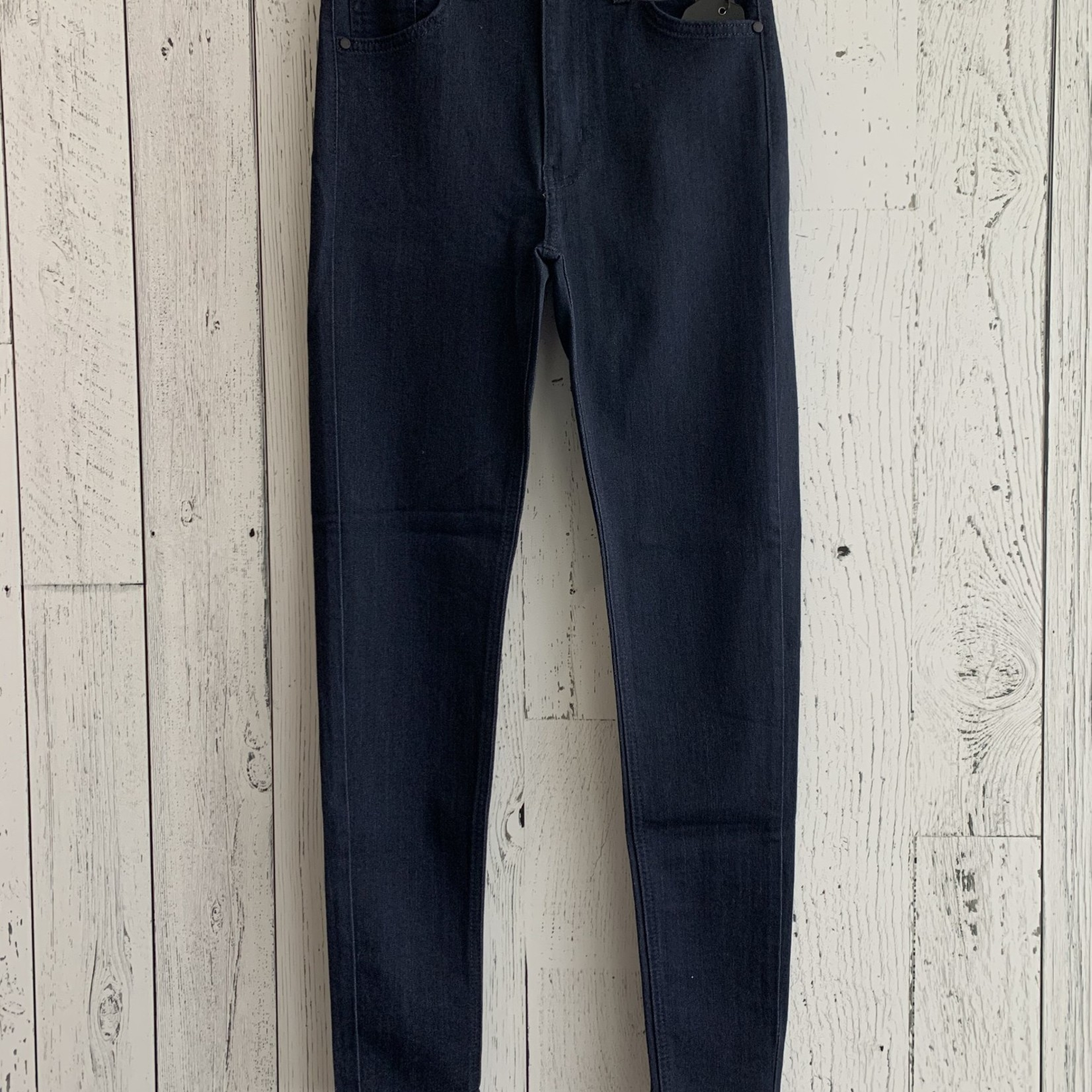 high rise ankle jegging