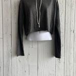 DDD crop hoodie