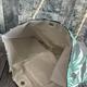 palm print beach bag