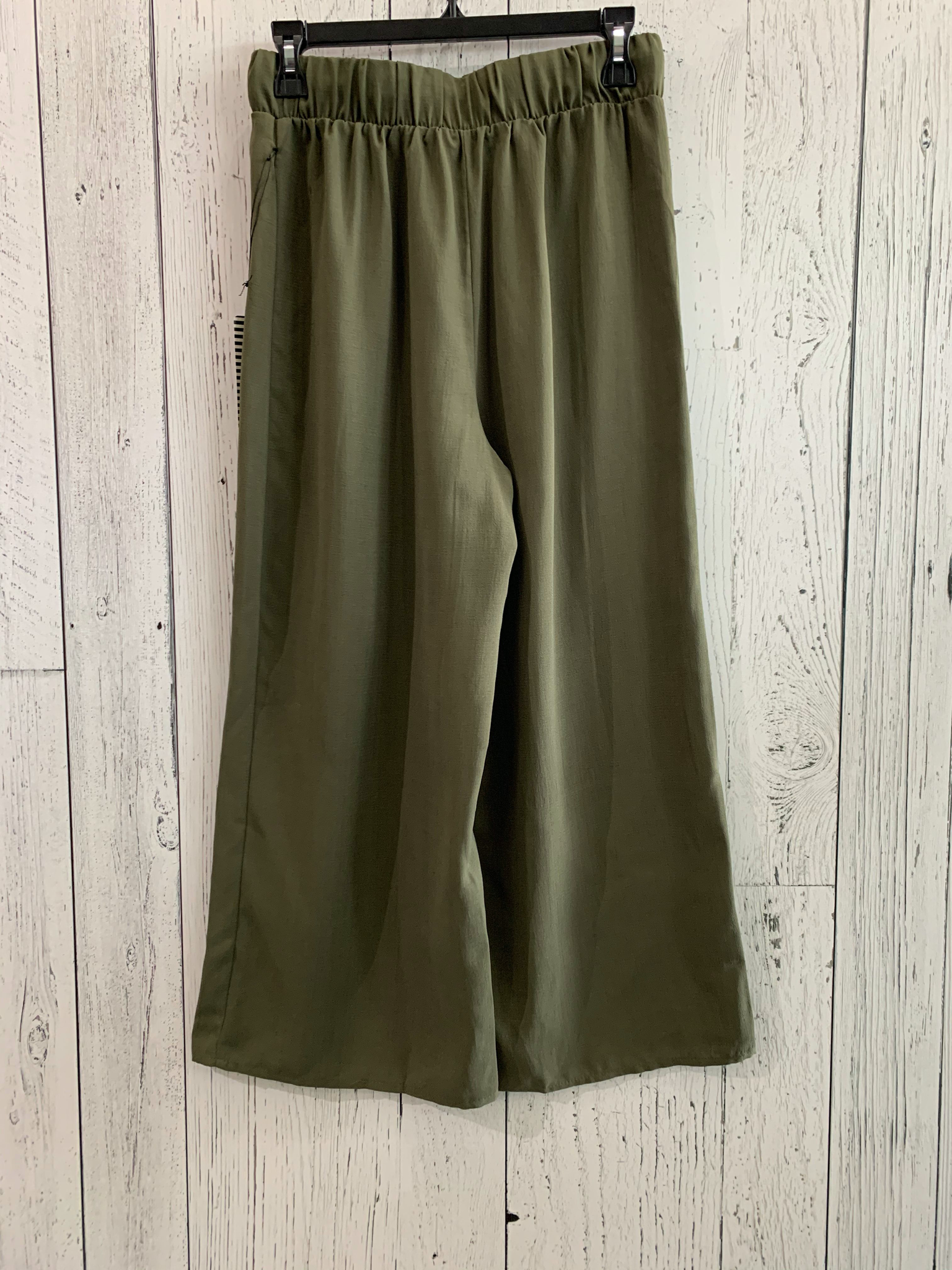 crop drawstring pants