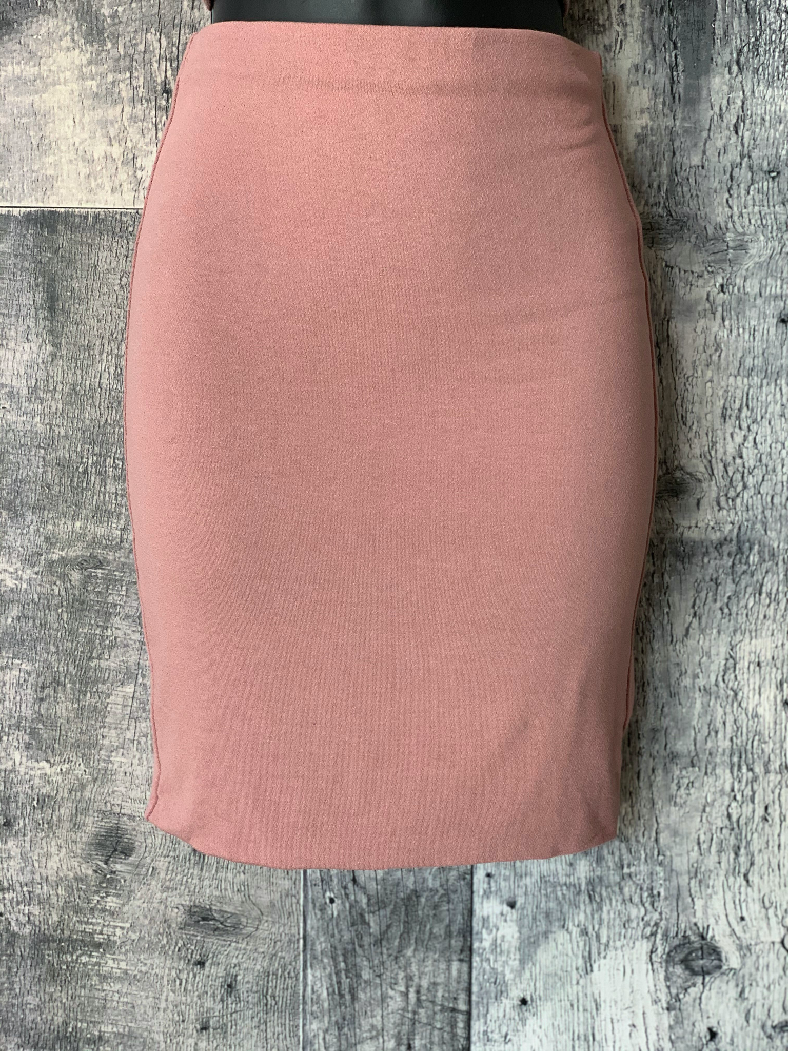 double lined mini skirt