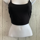 double lined crop top