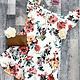 curvy floral off shoulder dress