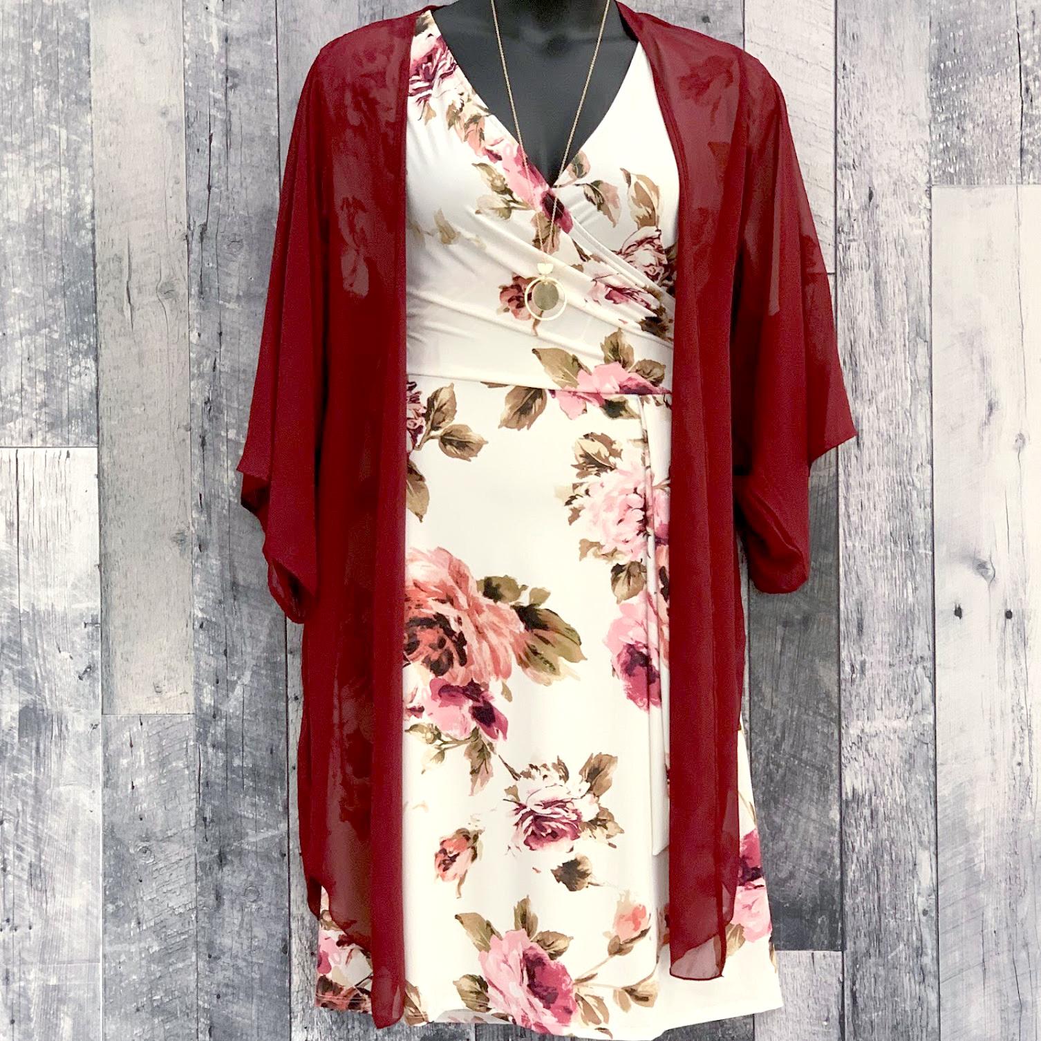curvy kimono