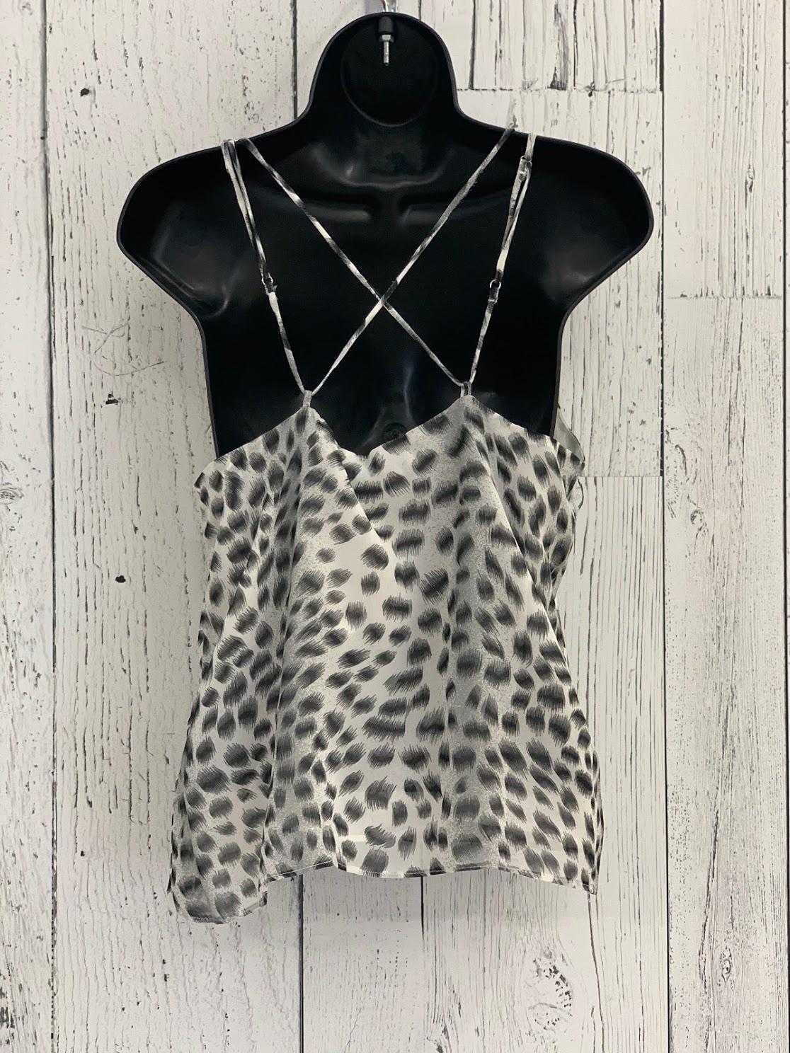 cross back leopard cami