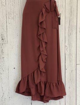 flounce tie skirt