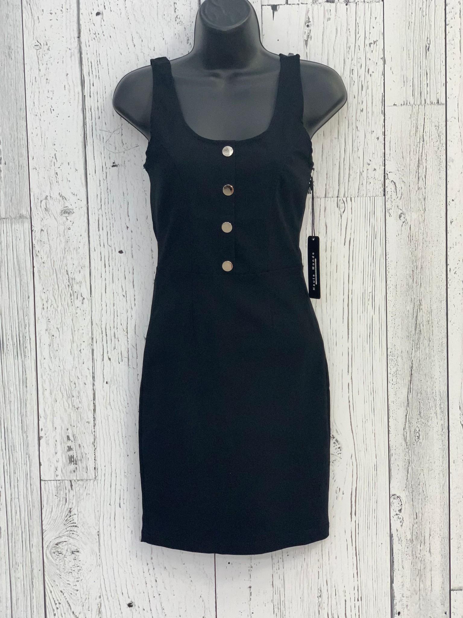 stretch button dress