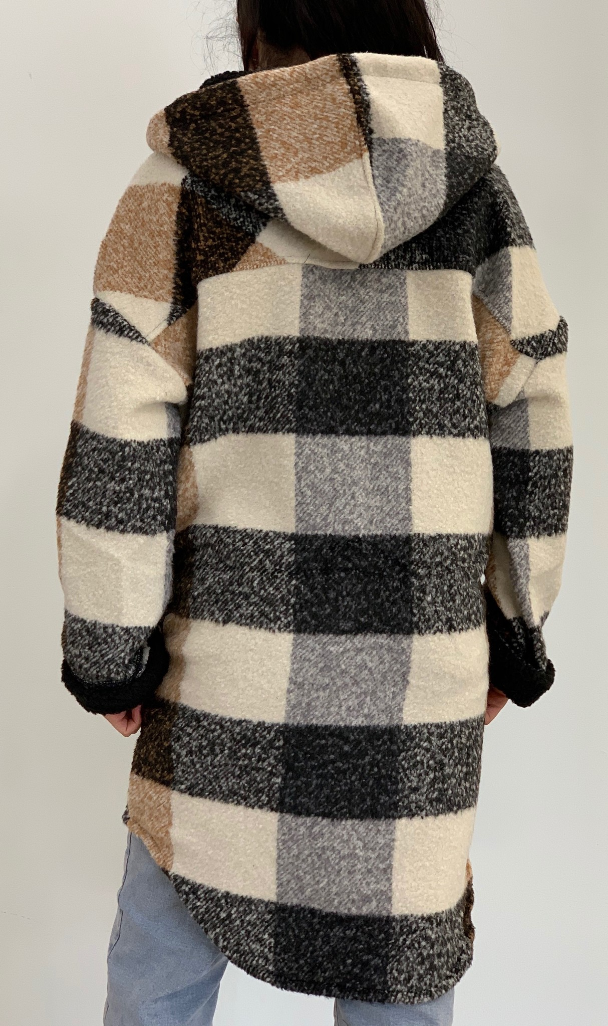 rd style - plaid coat