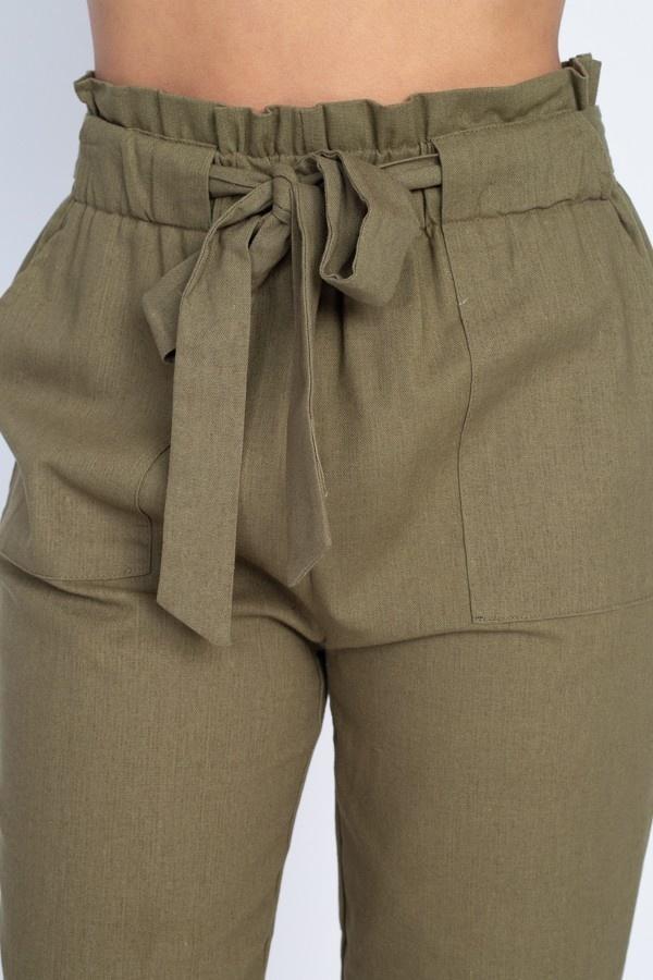 belinda paperbag pants