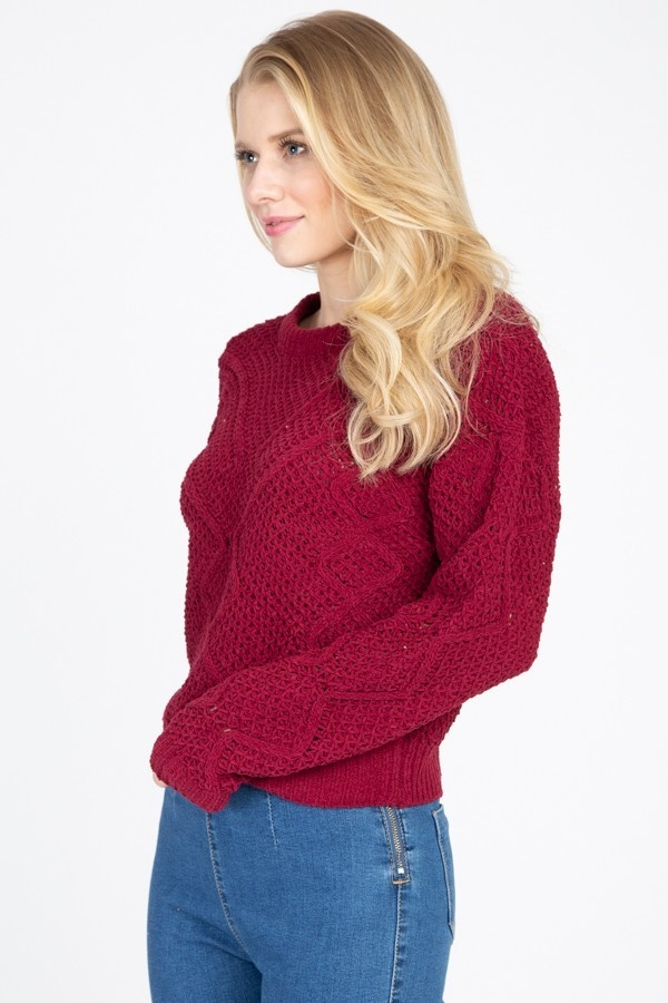 Hettie cable knit sweater