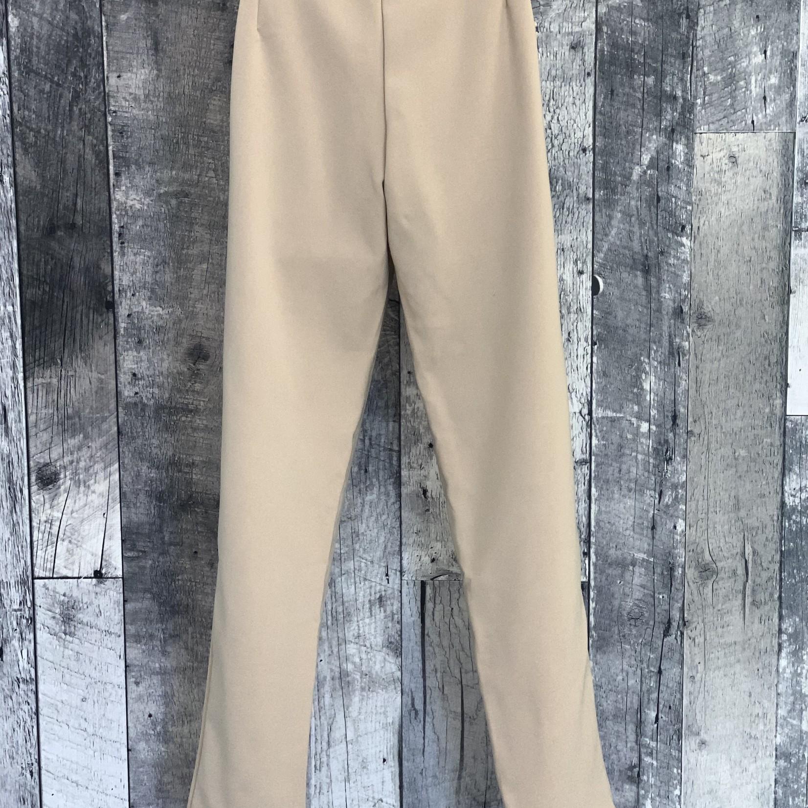 side buckle pants