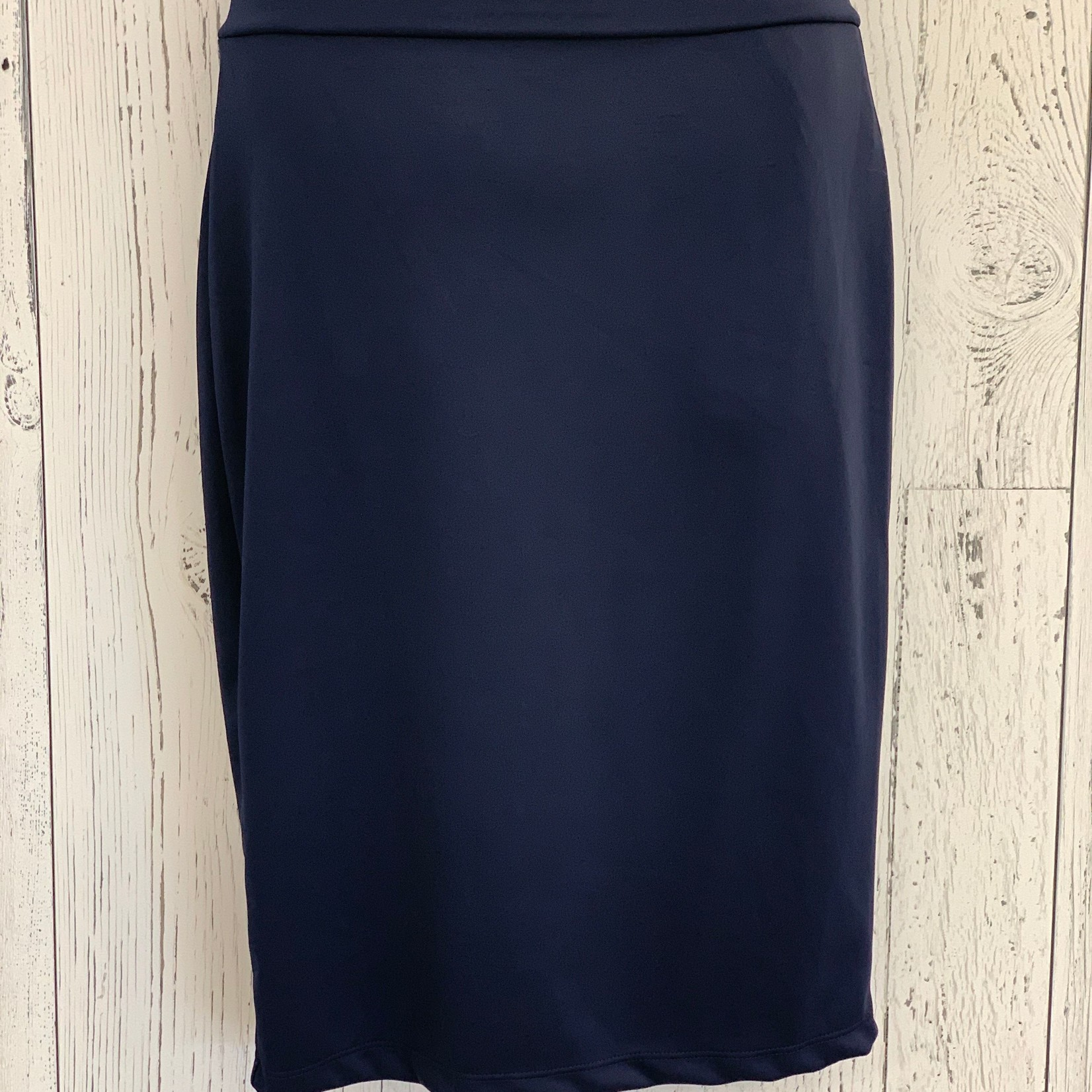 curvy high waisted fitted skirt