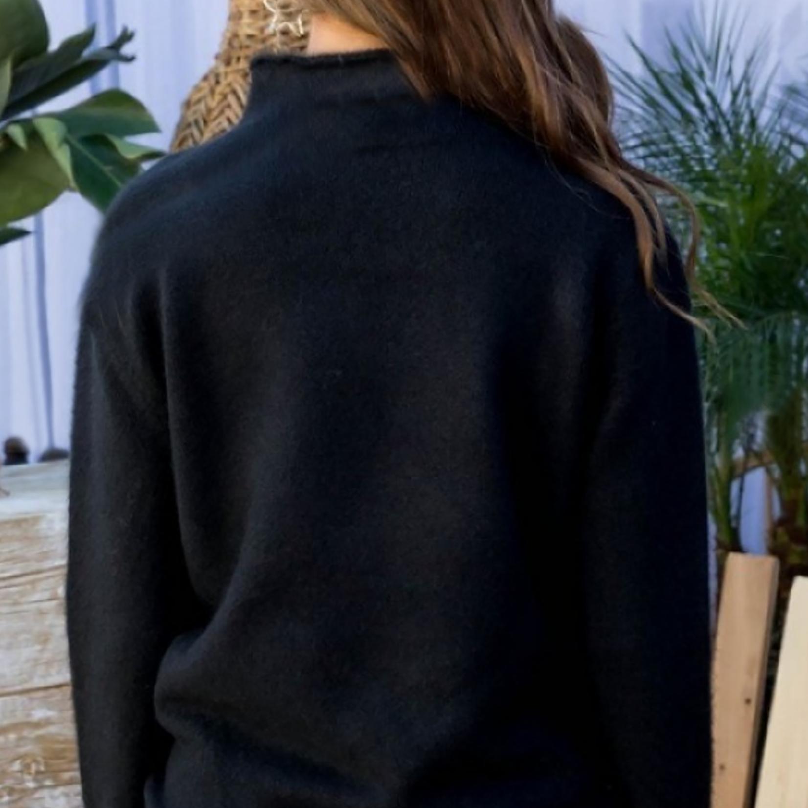 Maddie mock neck sweater