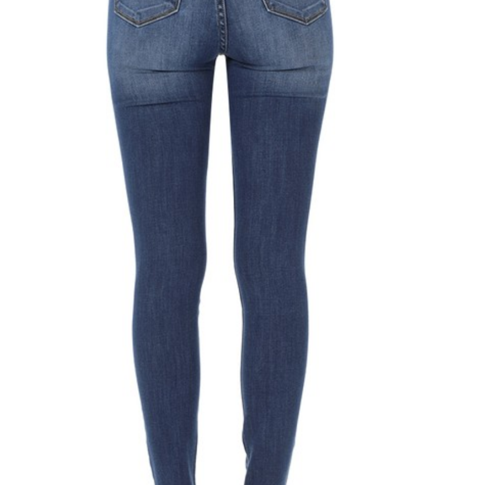 kerri faded skinny jean