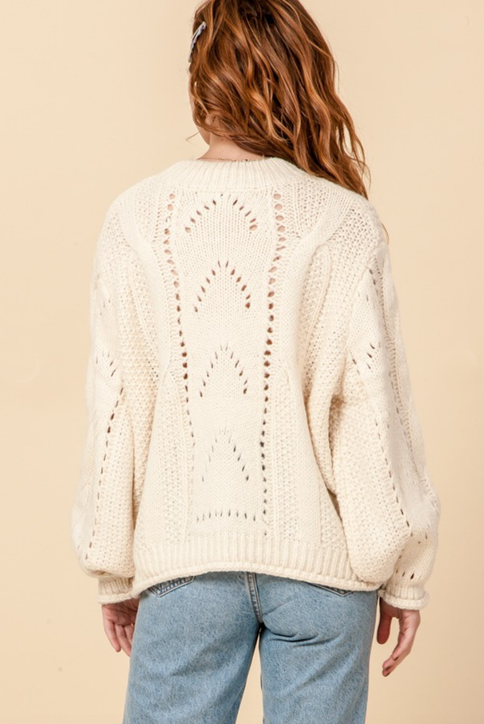 harper knit sweater