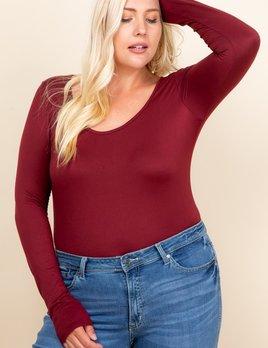 curvy Aliya bodysuit