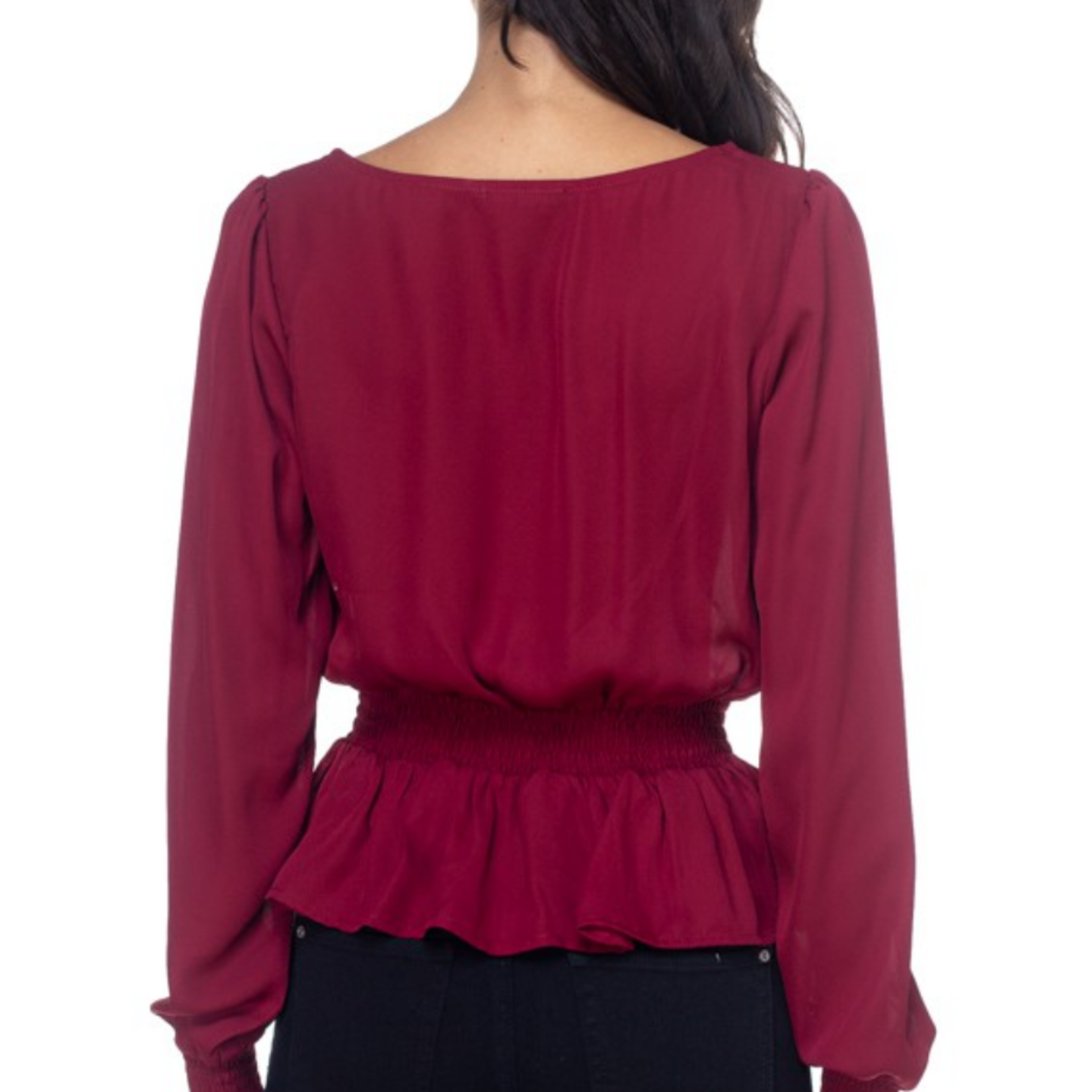 Isra square neck top