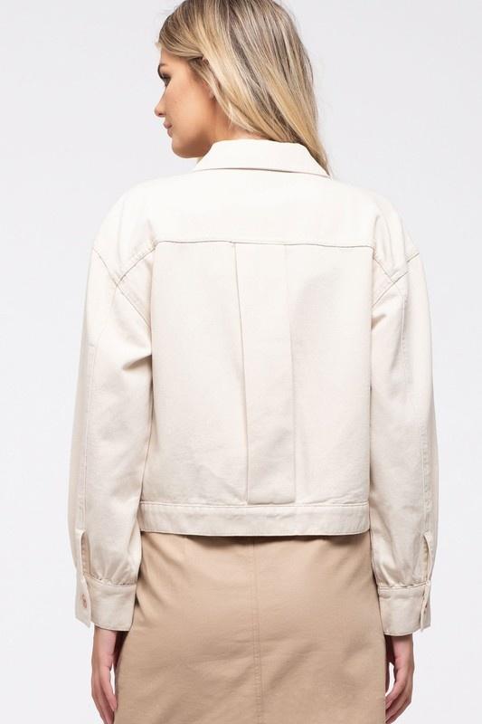 Blake soft denim jacket