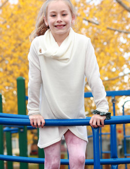 Grace  faux wrap sweater