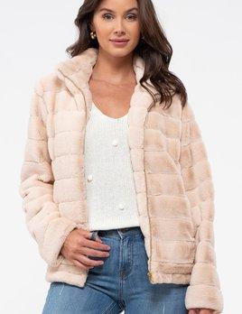 Bethany faux fur jacket