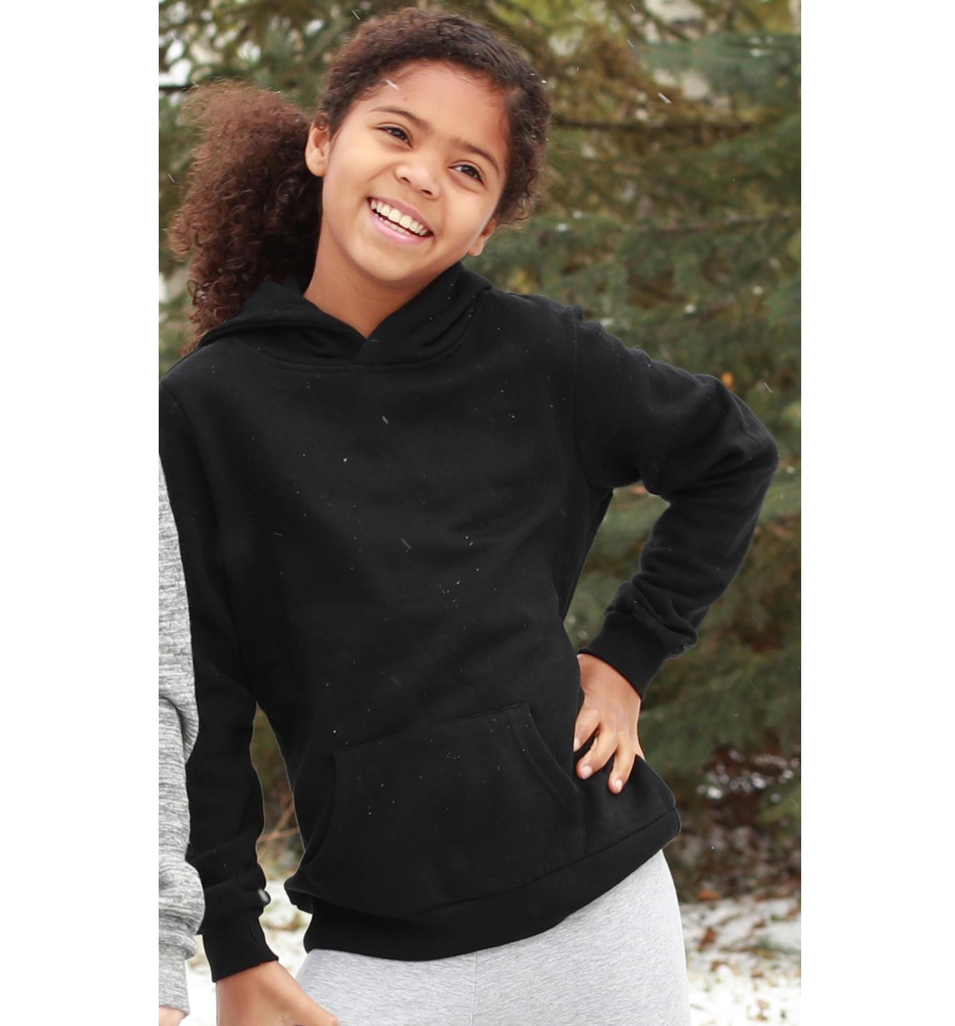 Ryan jr unisex fleecy pullover hoodie