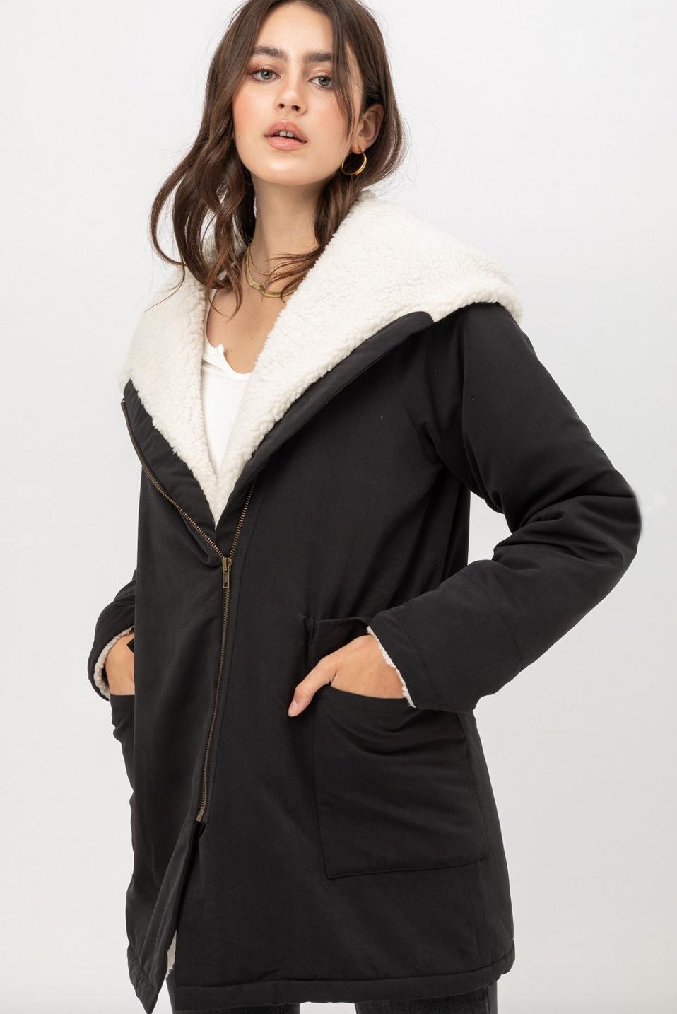 Tyra cozy coat