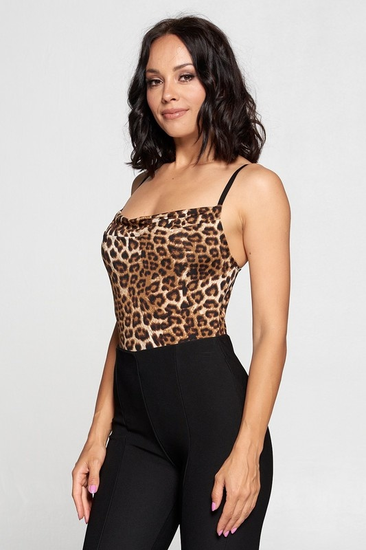 Callie cowl neck bodysuit