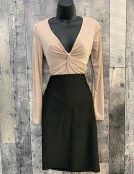 Iria long sleeve knot bodysuit