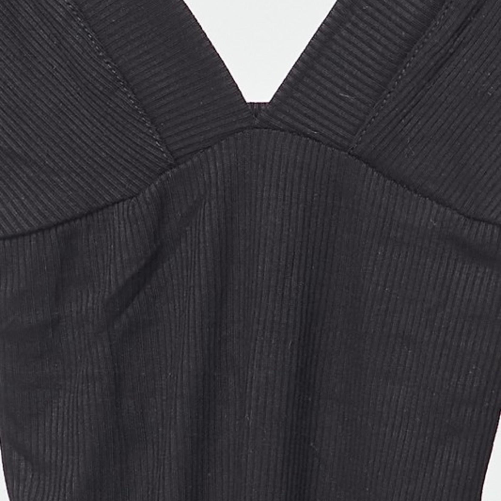2ne1 - beauty deepV tank bodysuit