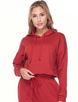 bam crop hoodie