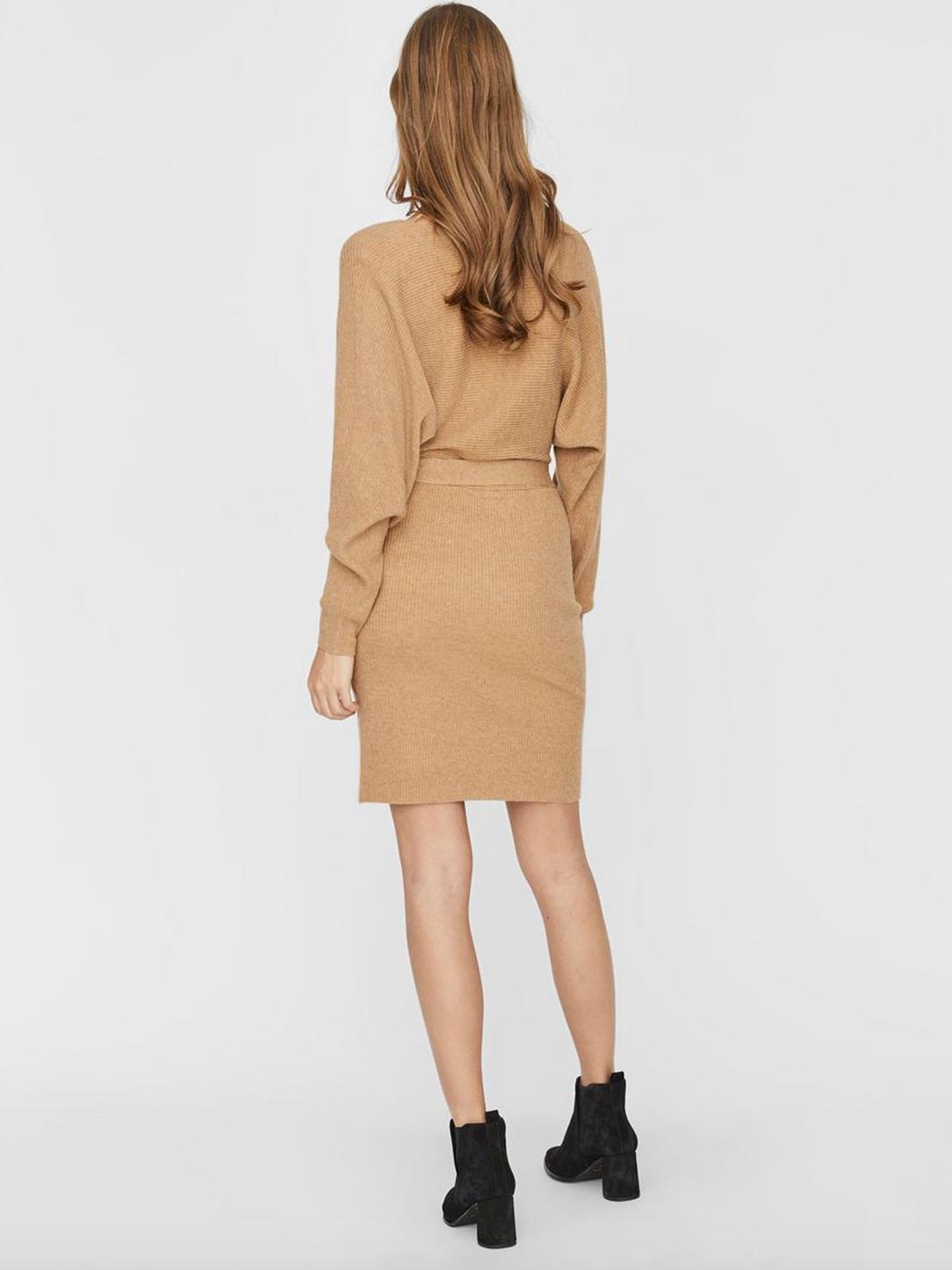 Vero Moda - cross over vneck sweater dress