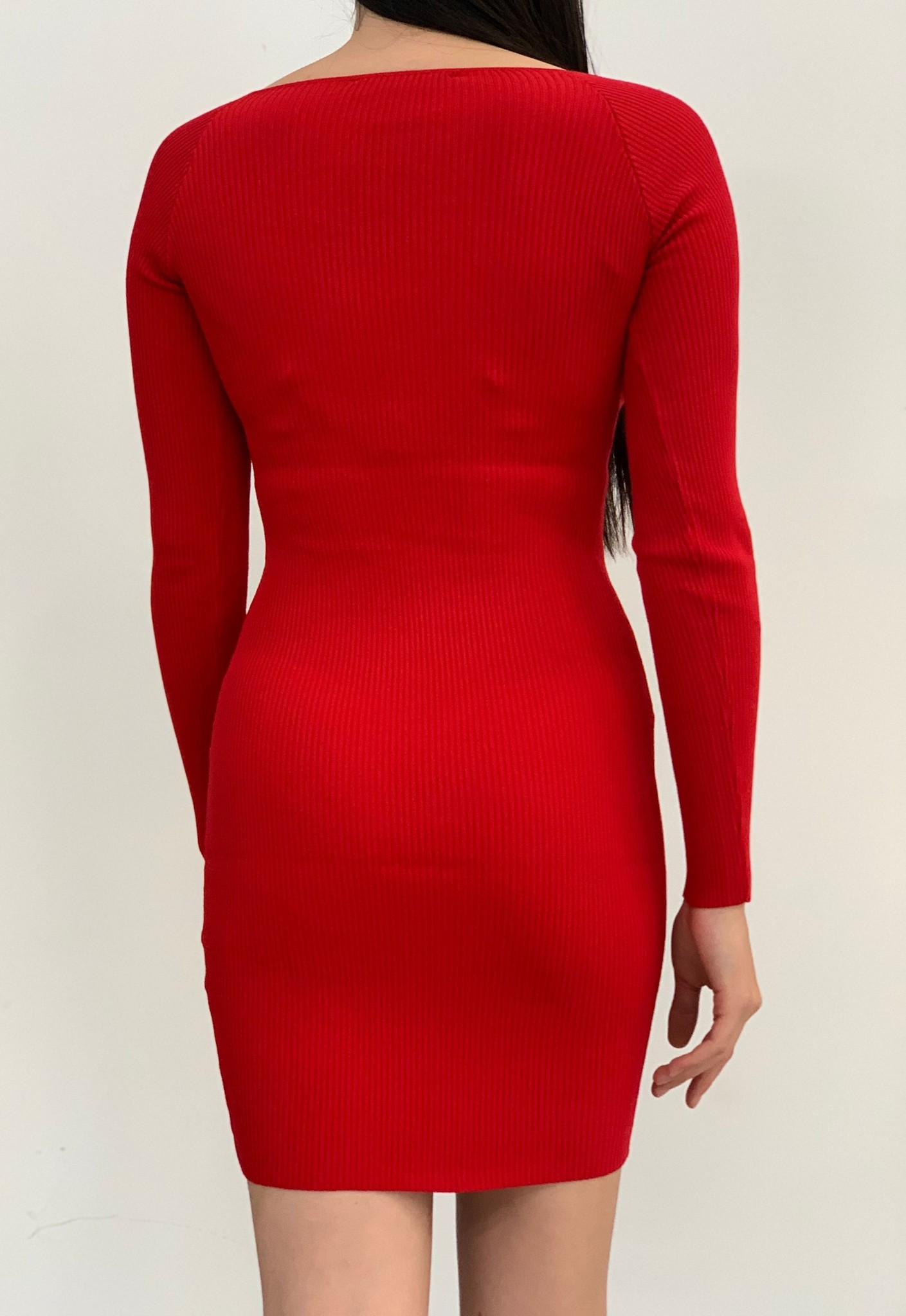 Hailey long sleeve sweater dress