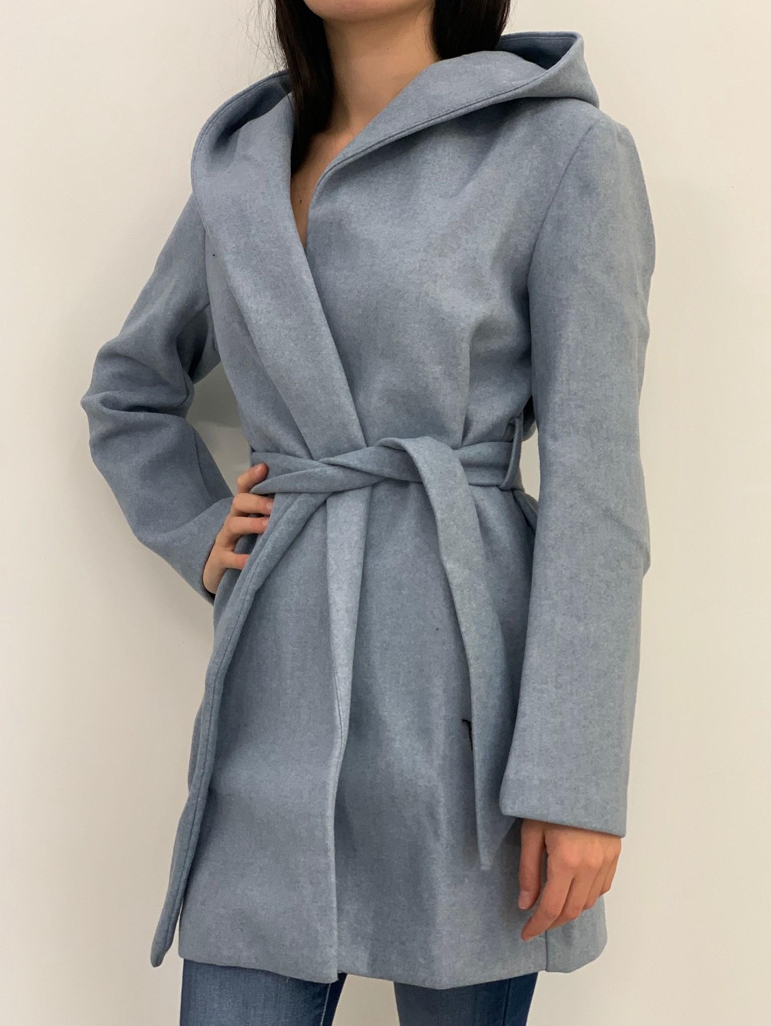 Taylor belted coat