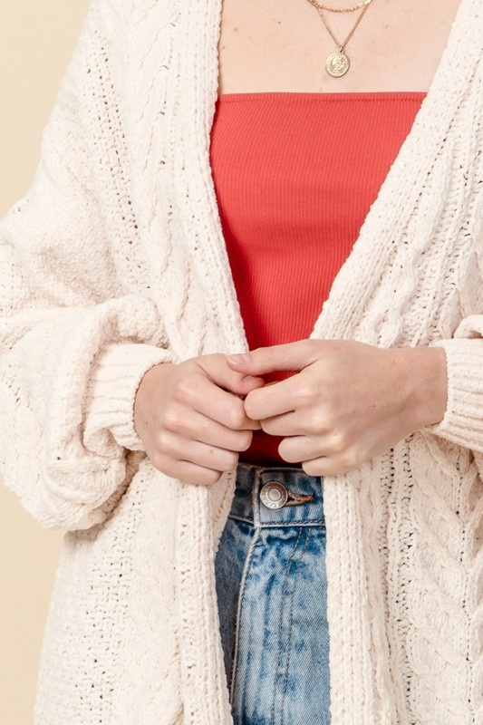 hone super soft knit cardigan