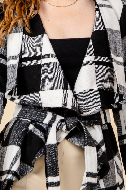 Hadlee plaid jacket