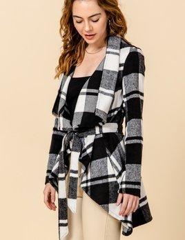 Hadlee plaid jacket