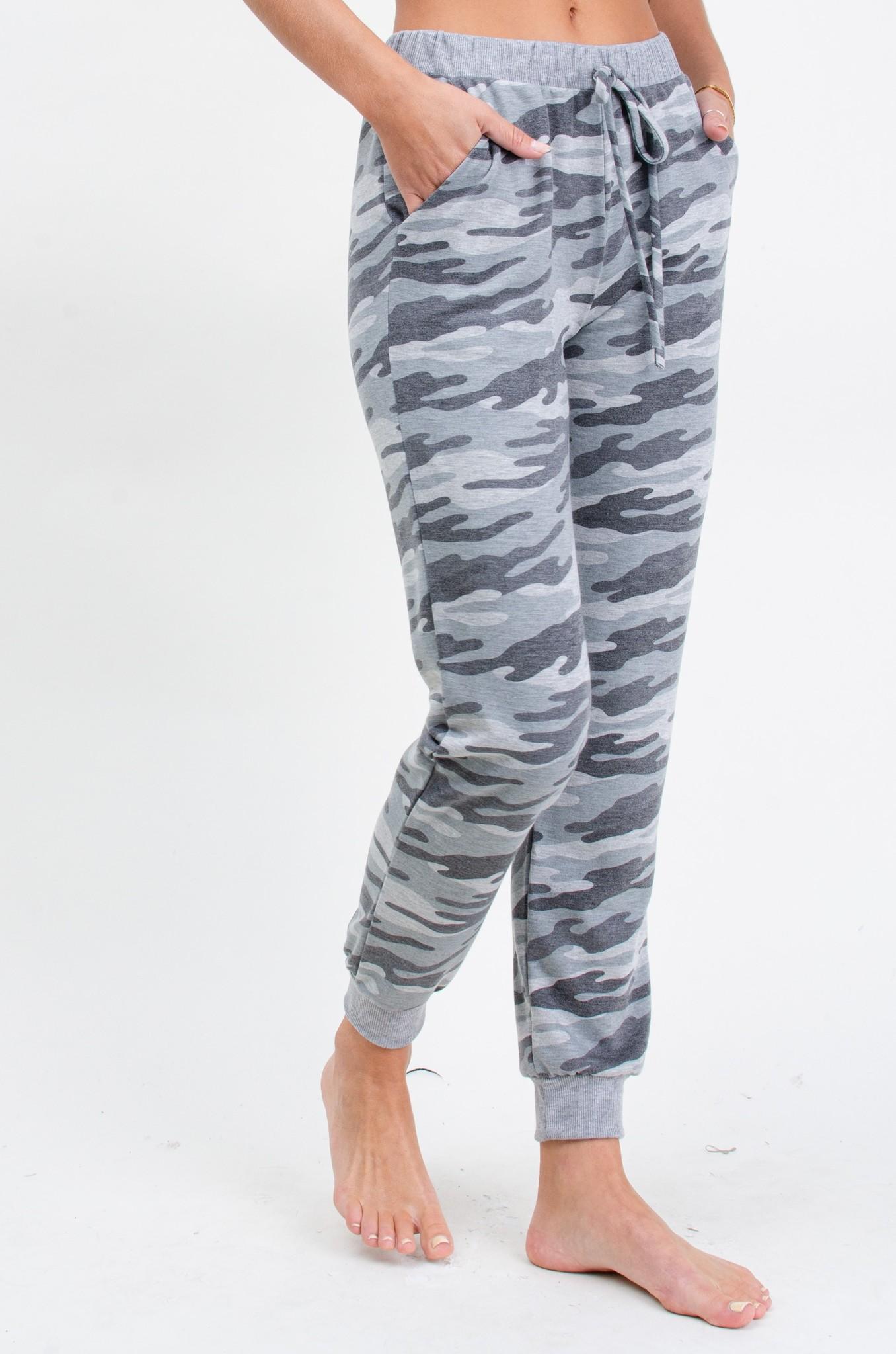 Miley camo soft joggers