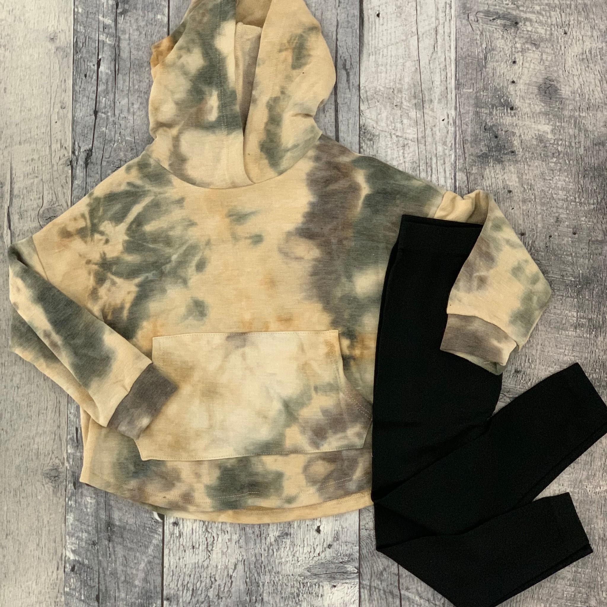 Maggie jr tie dye  hoodie