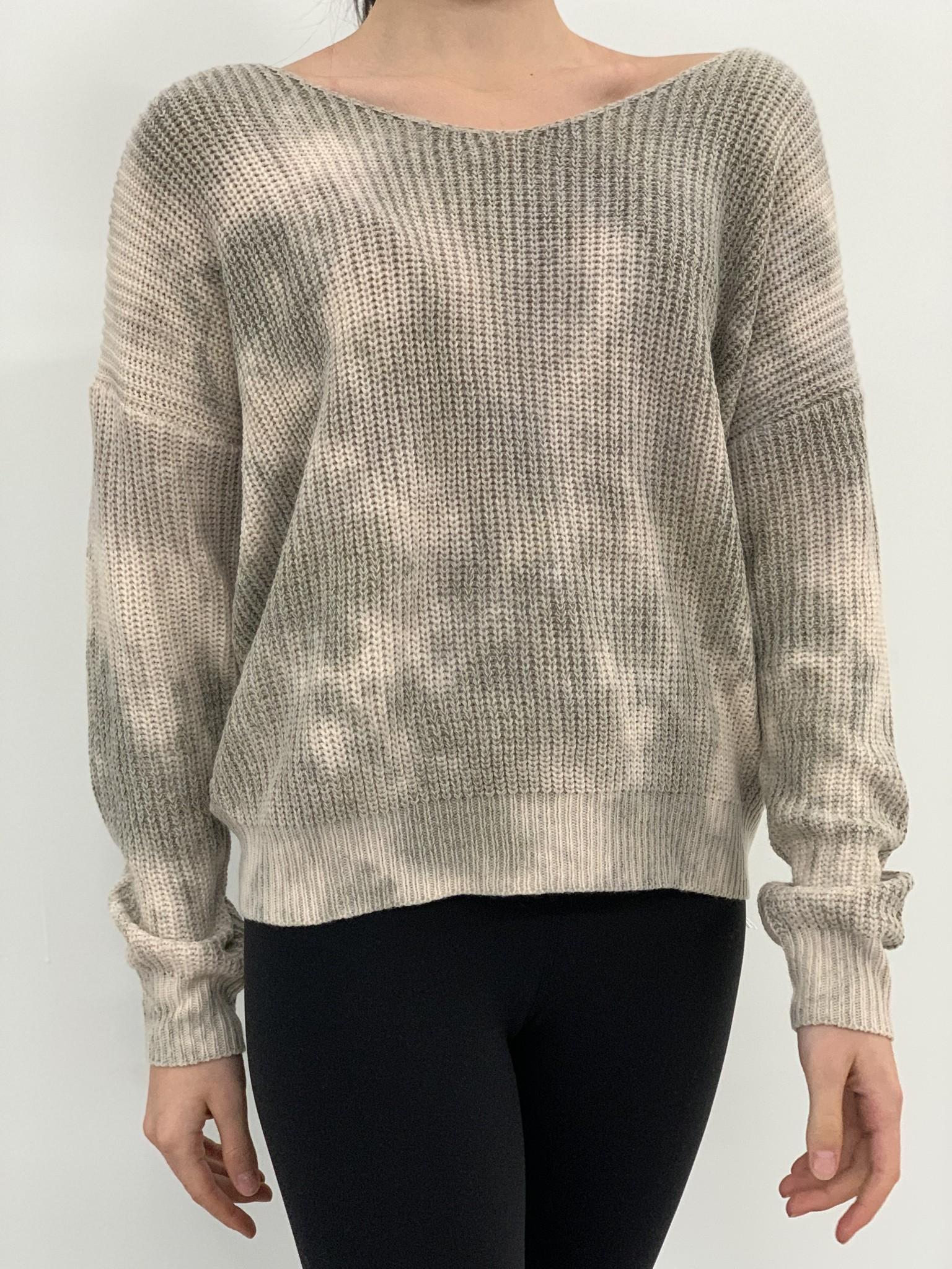 May  twist knot sweater