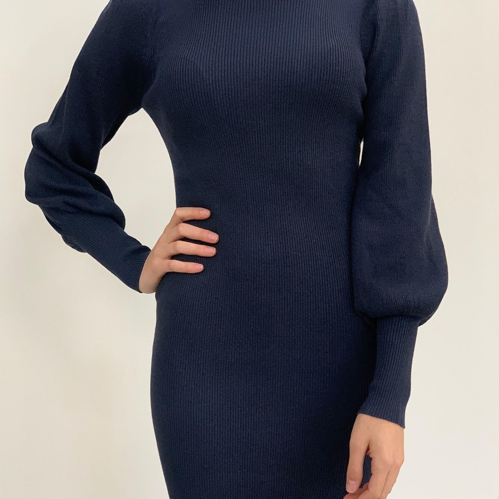 Lydia sparkle knit dress