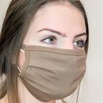 face mask - mocha