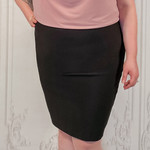 curvy claire bandage skirt
