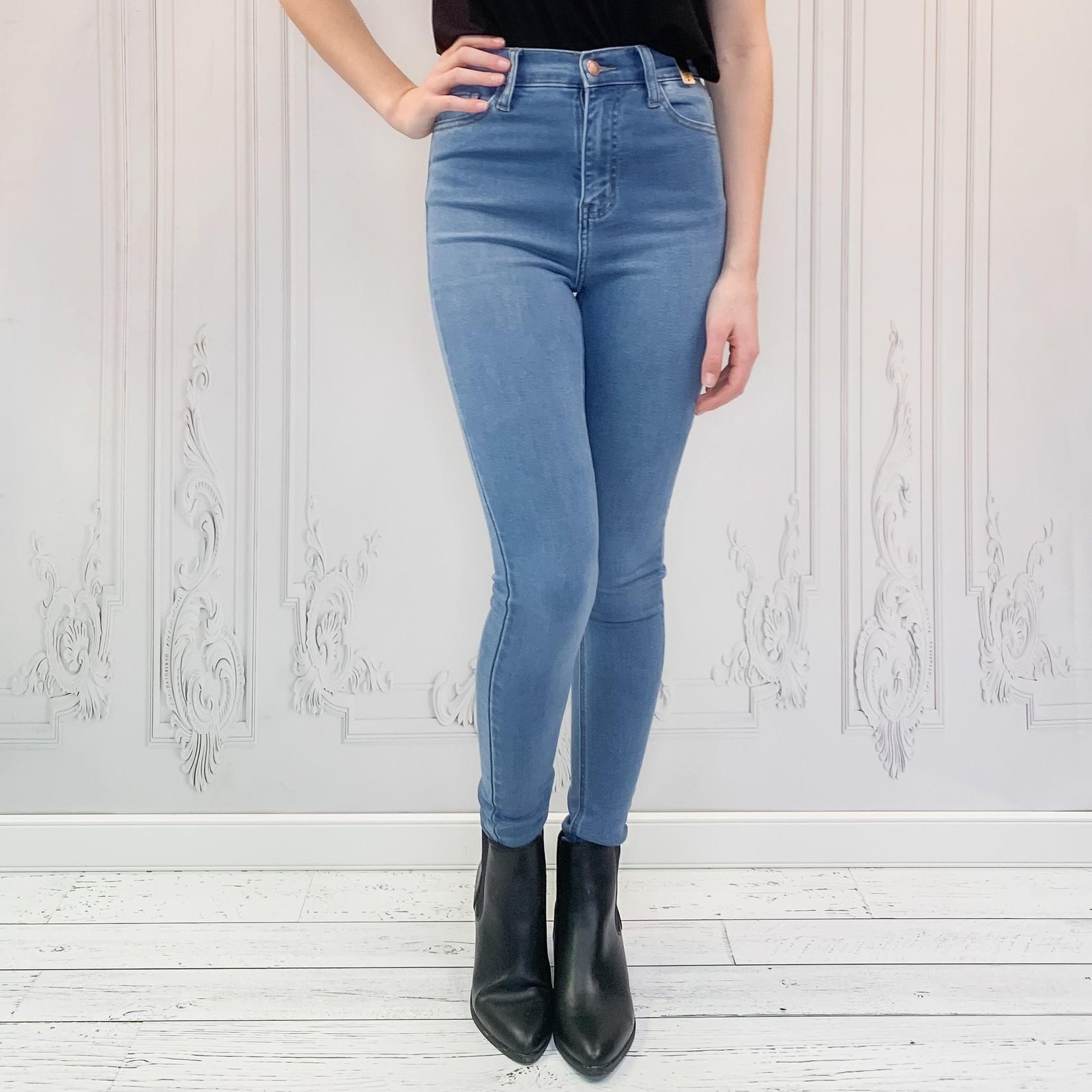 Vivian high rise skinny jeans