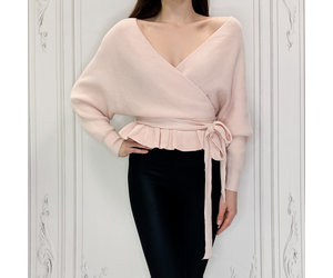 Olivia Peplum Sweater